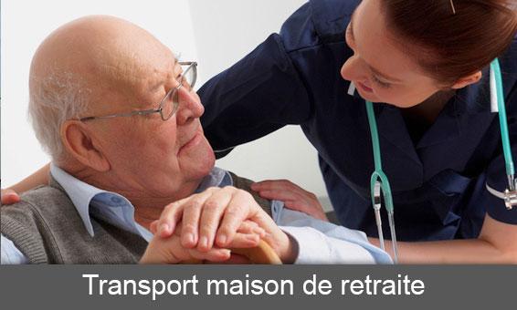 Transport maison de retraite