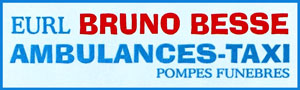 Logo EURL Bruno Besse AMBULANCES-TAXI